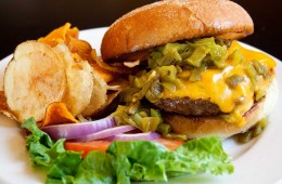 Green-Chile-Cheese-Buffalo Burger