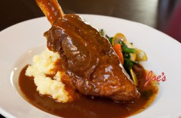 Braised Lamb Shank (local, organic)