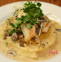 Chicken Breast with Mushroom & Rosemary cream