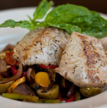 Grilled Yellowtail Sicilliana