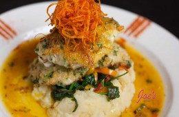 Herb crusted Alaskan Cod