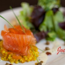 Smoked Salmon on Couscous
