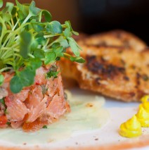 Hot Smoked Salmon Tartare