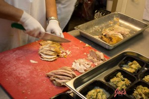 ThanksGiving-Turkey-Slicing-and-portion