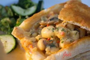 Scallops-in-Puffpastry