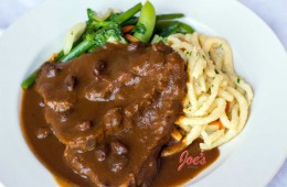 Sauerbraten with Speatzle