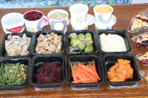 ThanksGiving foodtrays