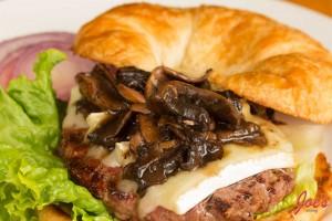 Burgundy- Burger